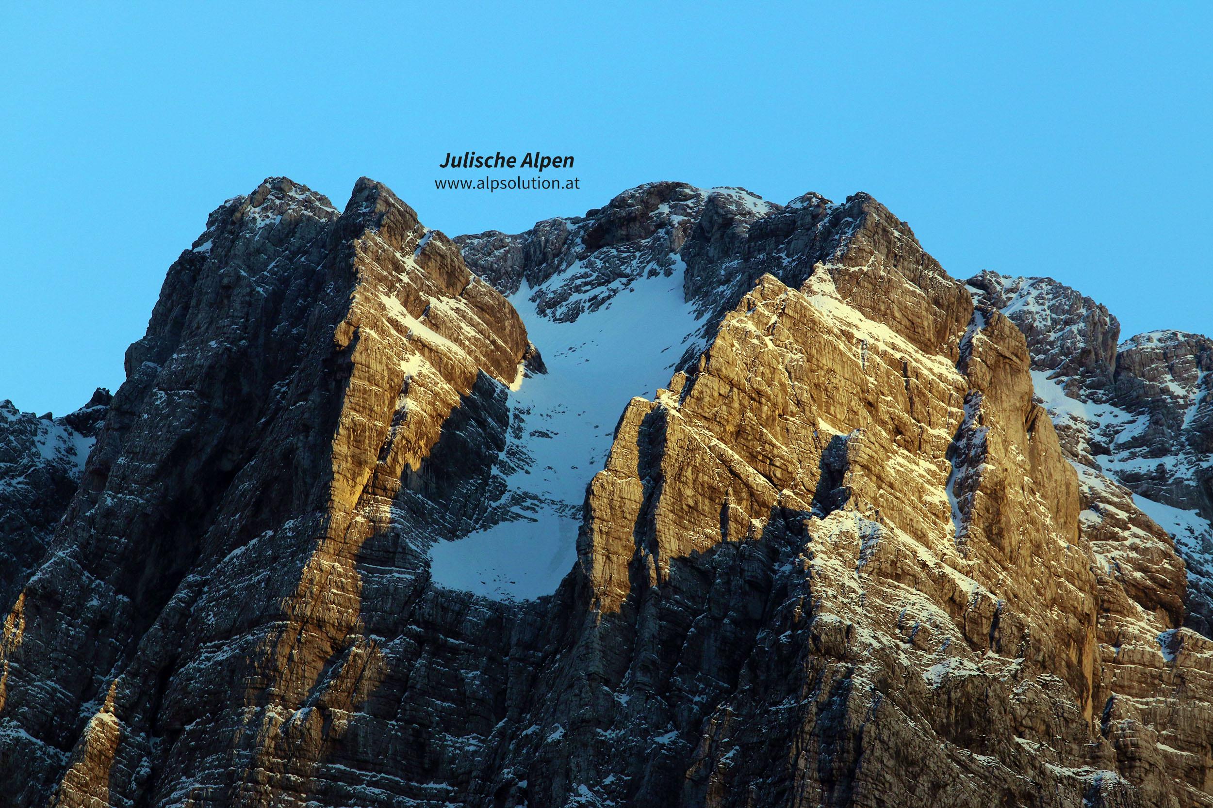 Klettersteig Julische Alpen : Die schönsten klettersteige in den karawanken julischen und